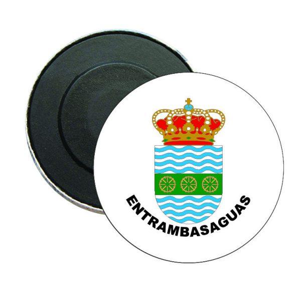 iman redondo escudo heraldico entrambasaguas