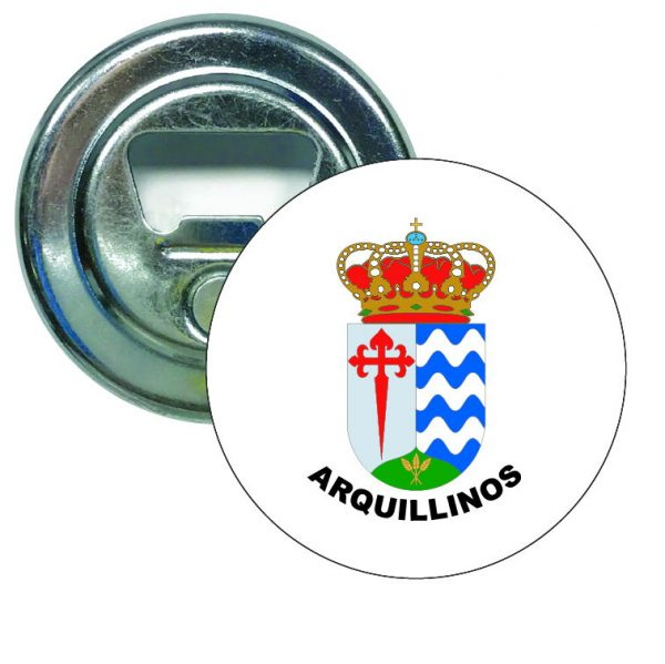 abridor redondo escudo heraldico arquillinos