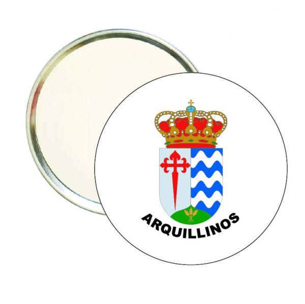 espejo redondo escudo heraldico arquillinos