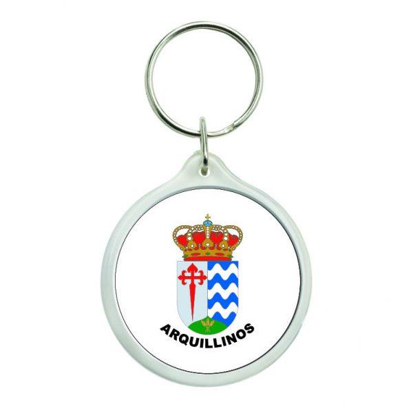 llavero redondo escudo heraldico arquillinos