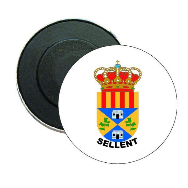 iman redondo escudo heraldico sellent