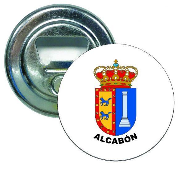 abridor redondo escudo heraldico alcabon
