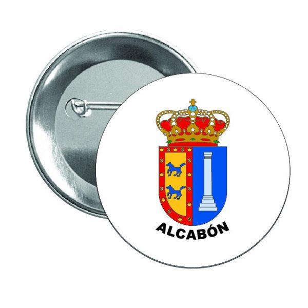 chapa escudo heraldico alcabon