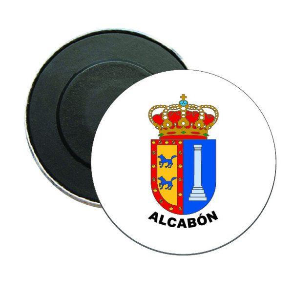 iman redondo escudo heraldico alcabon