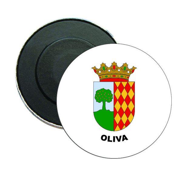 iman redondo escudo heraldico oliva