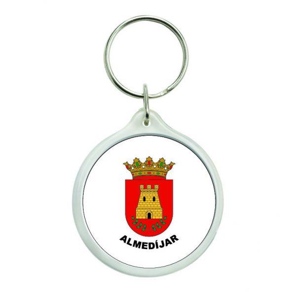 llavero redondo escudo heraldico almedijar