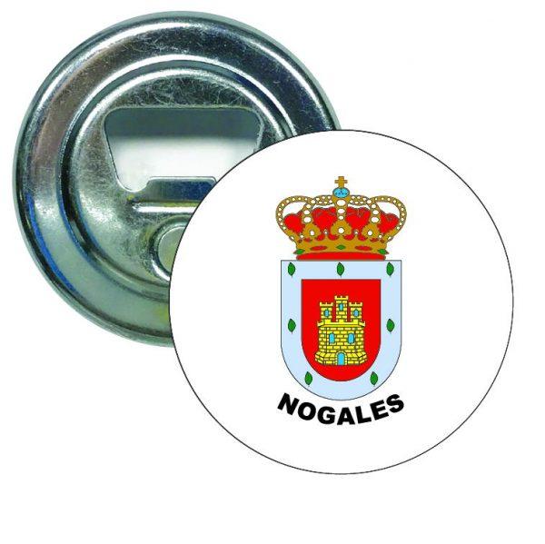 abridor redondo escudo heraldico nogales