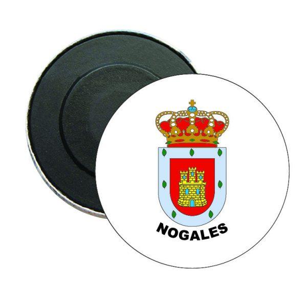 iman redondo escudo heraldico nogales