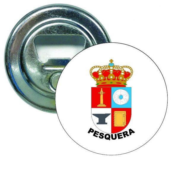 abridor redondo escudo heraldico pesquera