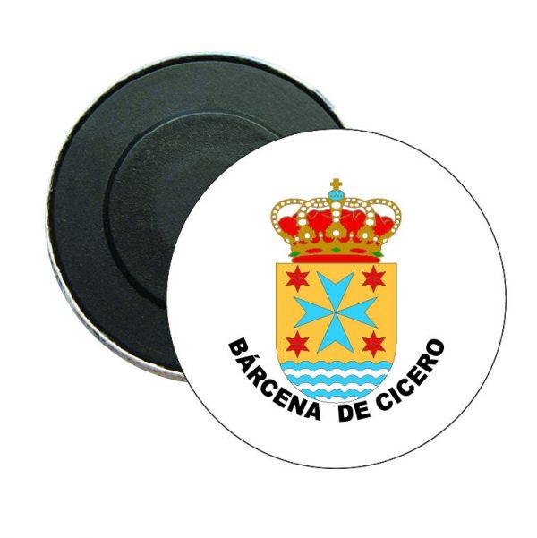 iman redondo escudo heraldico barcena de cicero