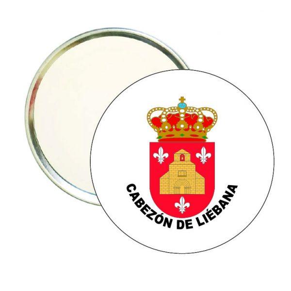 espejo redondo escudo heraldico cabezon de liebana