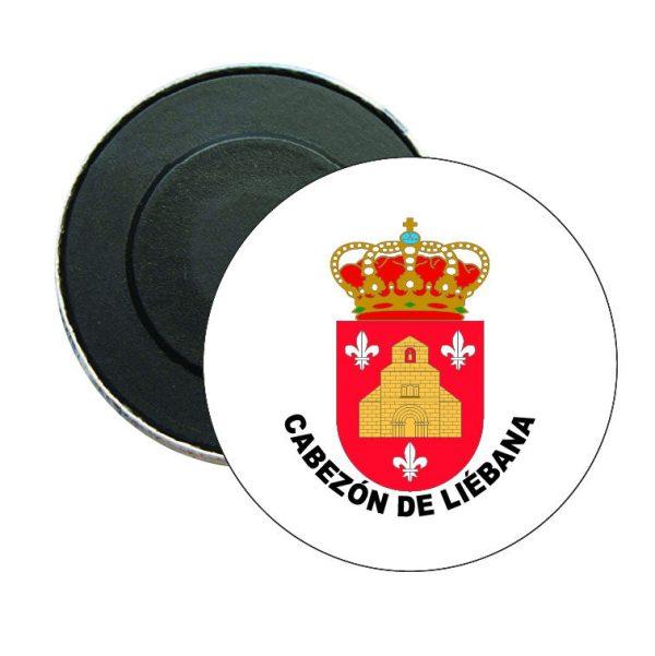 iman redondo escudo heraldico cabezon de liebana