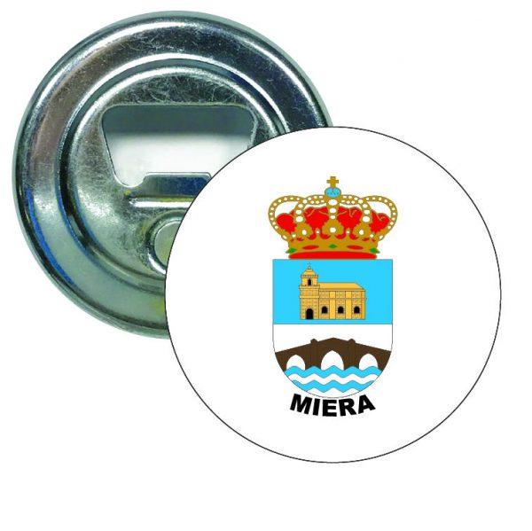 abridor redondo escudo heraldico miera