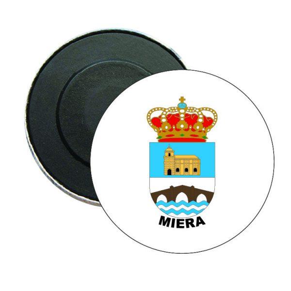 iman redondo escudo heraldico miera