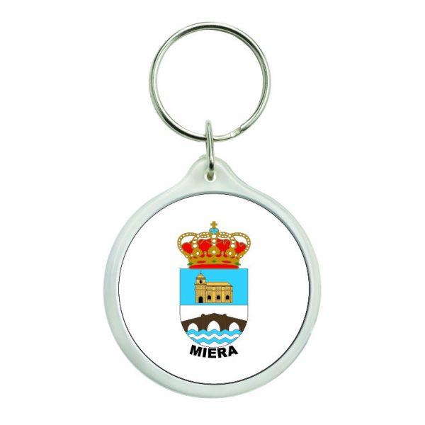 llavero redondo escudo heraldico miera