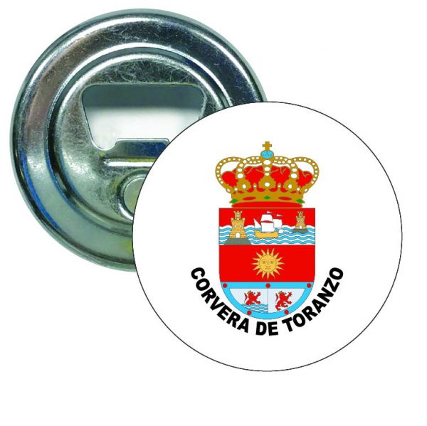 abridor redondo escudo heraldico corvera de toranzo