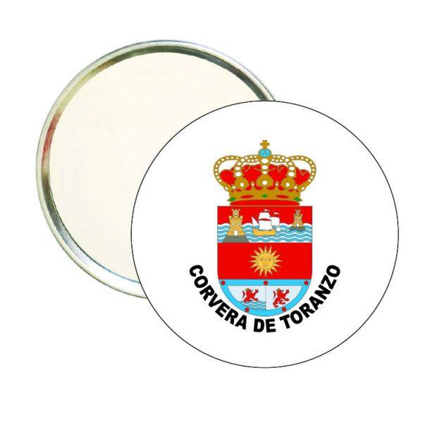 espejo redondo escudo heraldico corvera de toranzo