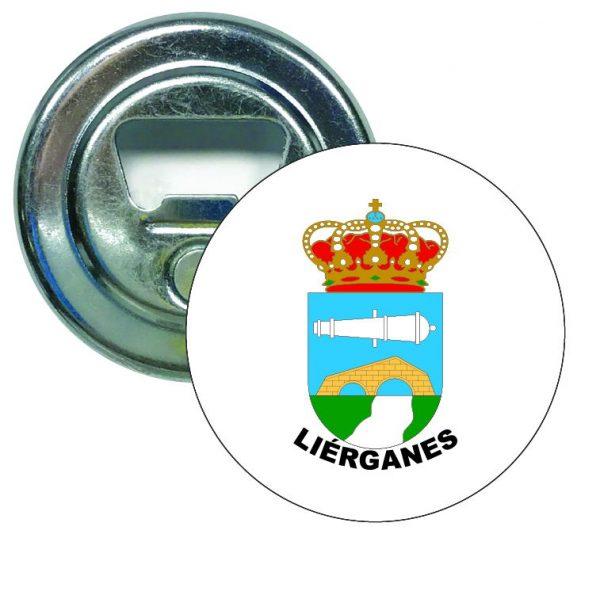 abridor redondo escudo heraldico lierganes