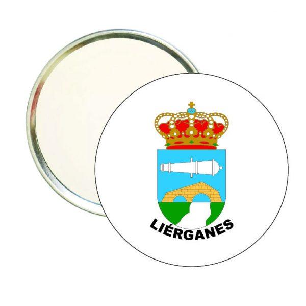espejo redondo escudo heraldico lierganes