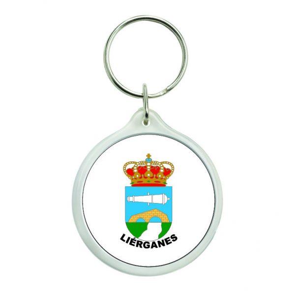 llavero redondo escudo heraldico lierganes