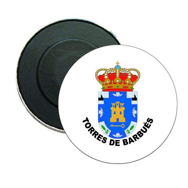 iman redondo escudo heraldico torres de barbues