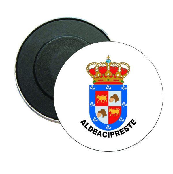 iman redondo escudo heraldico aldeacipreste
