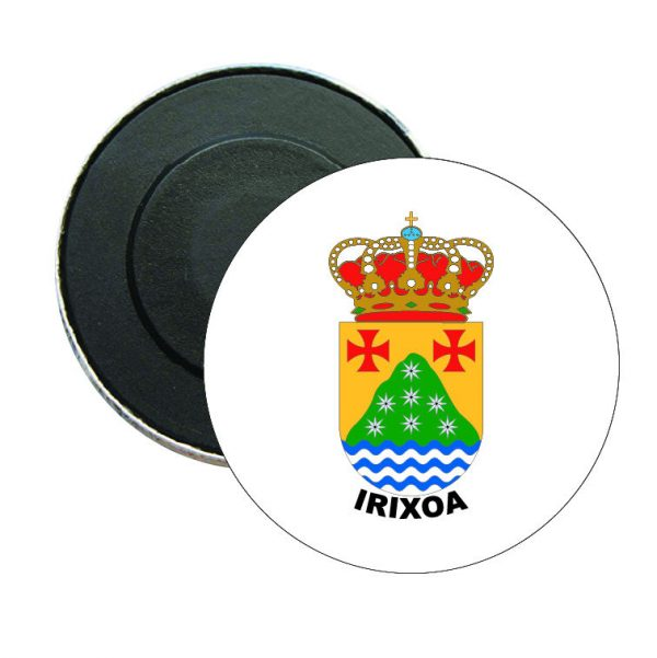 iman redondo escudo heraldico irixoa