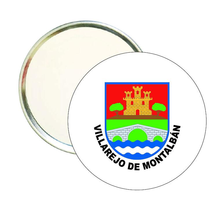 espejo redondo escudo heraldico villarejo de montalban