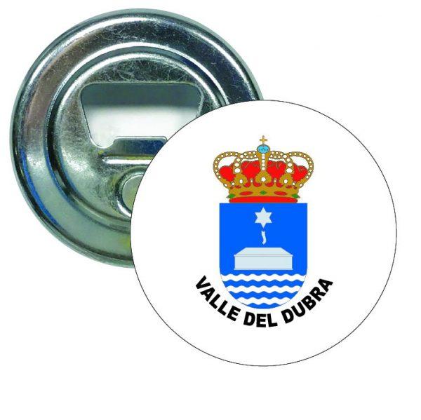abridor redondo escudo heraldico valle del dubra