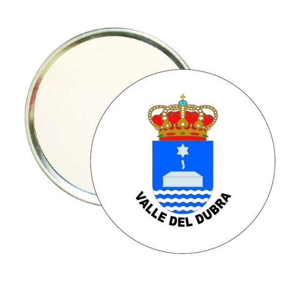 espejo redondo escudo heraldico valle del dubra