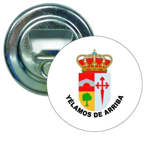 abridor redondo escudo heraldico yelamos de arriba