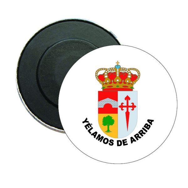 iman redondo escudo heraldico yelamos de arriba