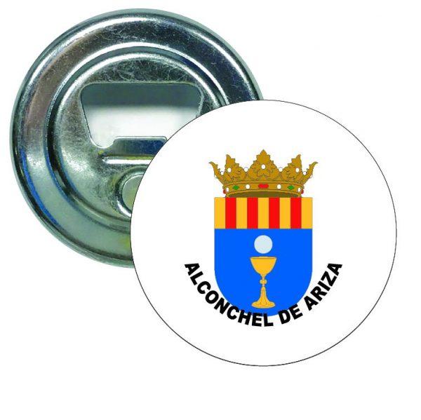 abridor redondo escudo heraldico alconchel de ariza