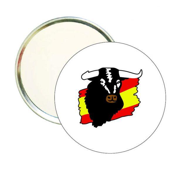 espejo redondo toro bandera espana