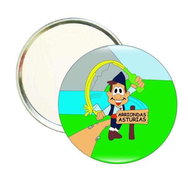 espejo redondo arriondas asturias