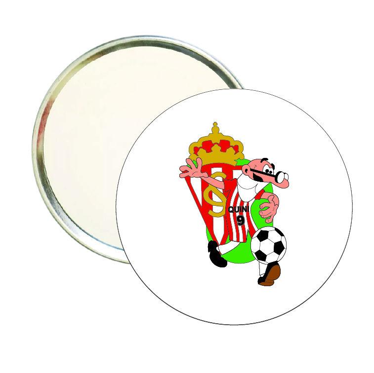espejo redondo mortadelo quini sporting gijon