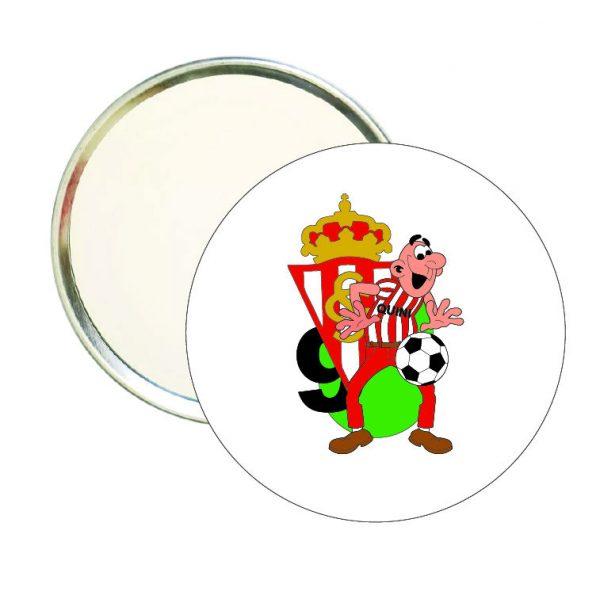 espejo redondo filemon quini sporting gijon
