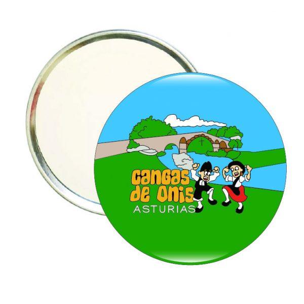 espejo redondo cangas de onis asturias