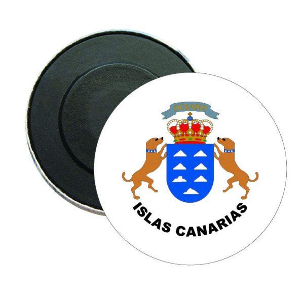 iman redondo escudo heraldico islas canarias