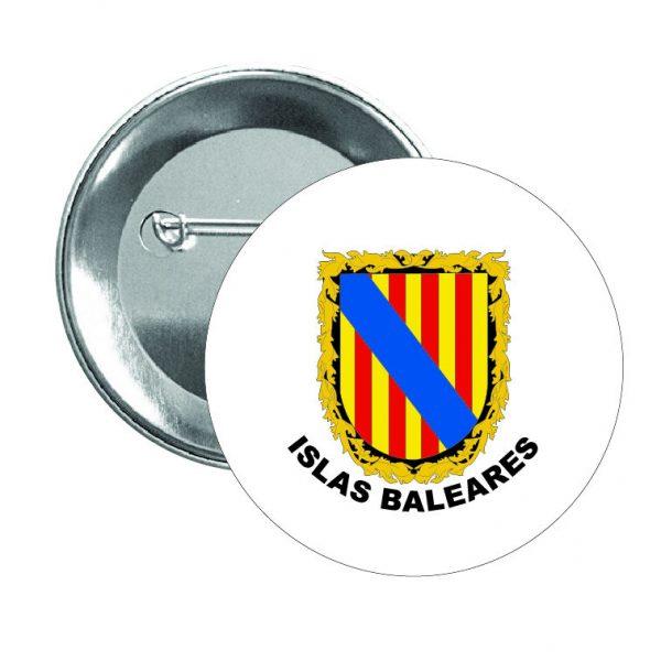 chapa escudo heraldico islas baleares
