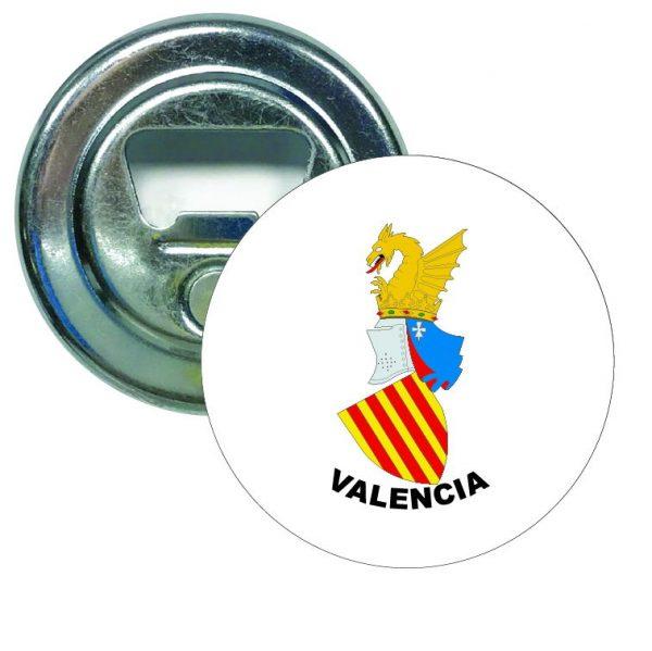 abridor redondo escudo heraldico valencia