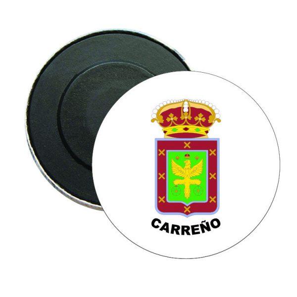 iman redondo escudo heraldico carreno