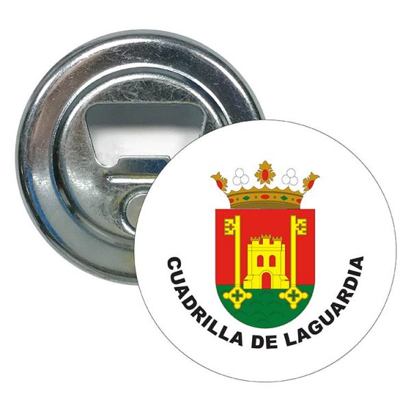 abridor redondo escudo heraldico cuadrilla de laguardia
