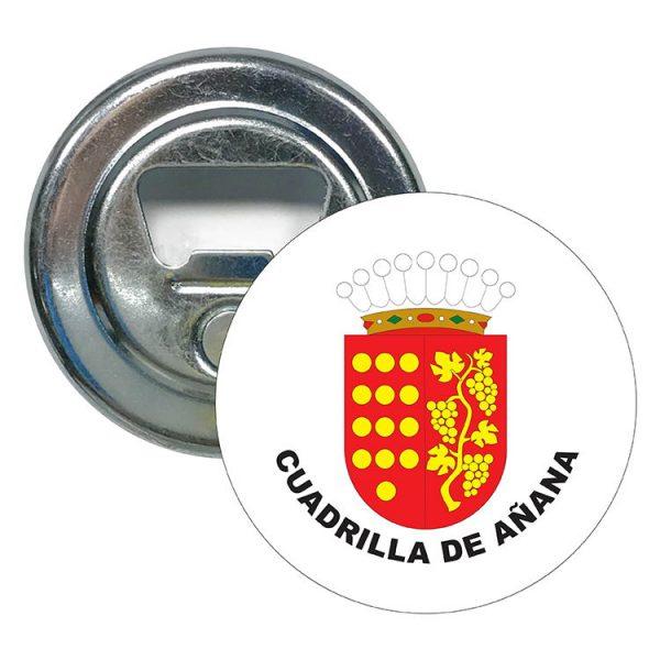 abridor redondo escudo heraldico cuadrilla de anana