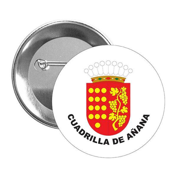 chapa escudo heraldico cuadrilla de anana