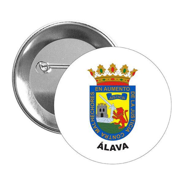 chapa escudo heraldico alava