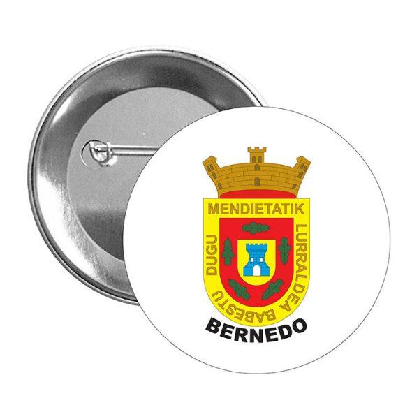 chapa escudo heraldico bernedo