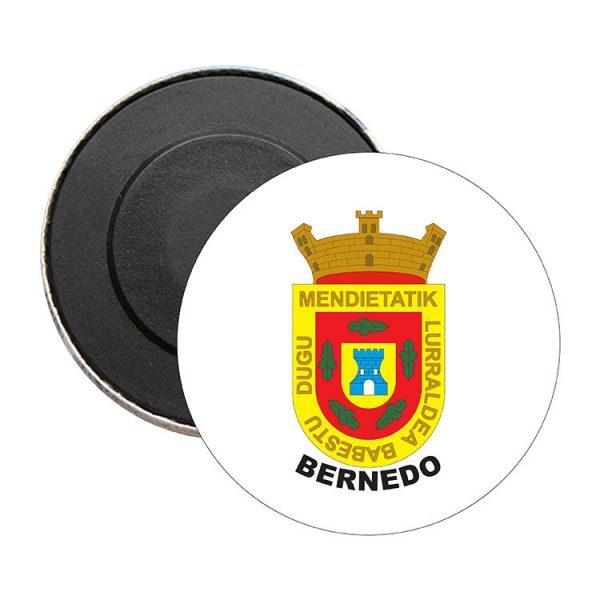 iman redondo escudo heraldico bernedo