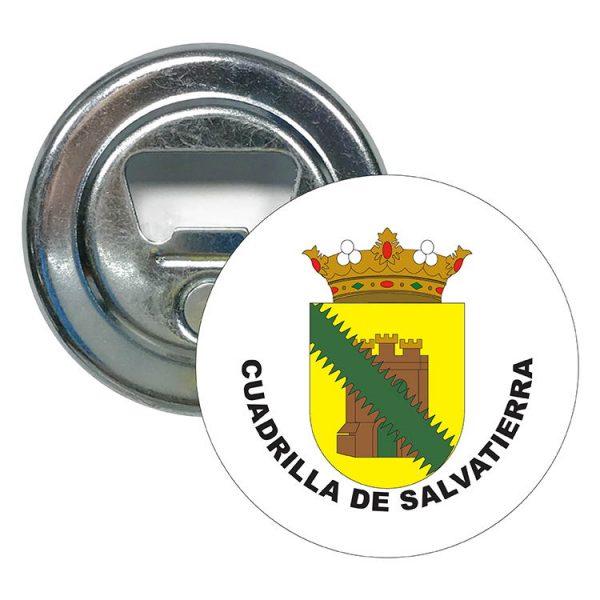 abridor redondo escudo heraldico cuadrilla de salvatierra