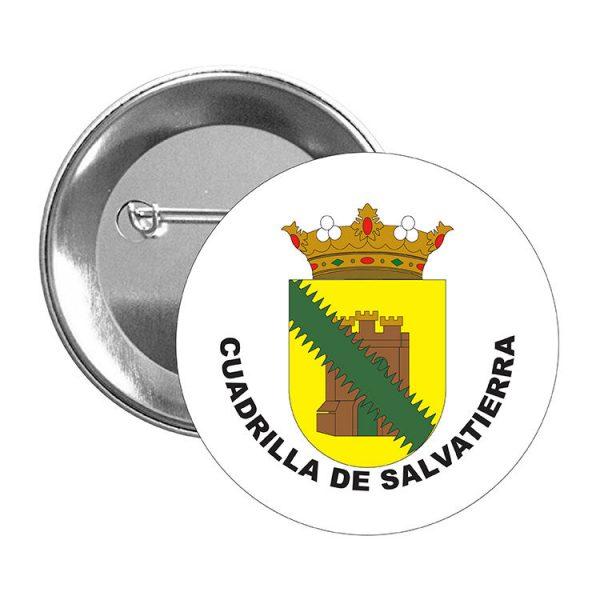 chapa escudo heraldico cuadrilla de salvatierra